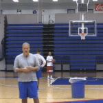 3 Man 2 Ball Shooting Drill