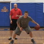 Windshield Wiper Reverse Between the Legs Dribbling Drill