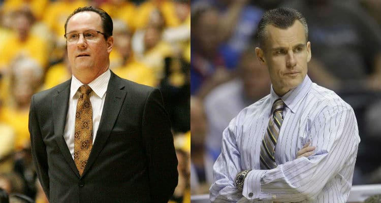 Gregg Marshal and Billy Donovan