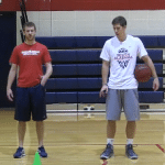 Between the Legs Competition Dribbling Drill   Basketball HQ