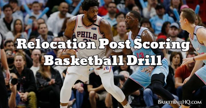 Relocation Post Scoring Basketball Drill
