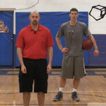 Windshield Wiper Between The Legs Dribbling Drill