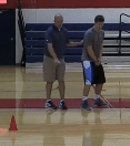 Screen the Screener to Flare Shooting Drill   Basketball HQ