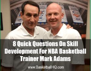 Mark Adams Player Development Expert
