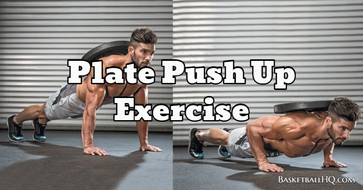 Plate Push Up Exercise