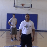 Two Ball Drive and Kick Shooting Drill