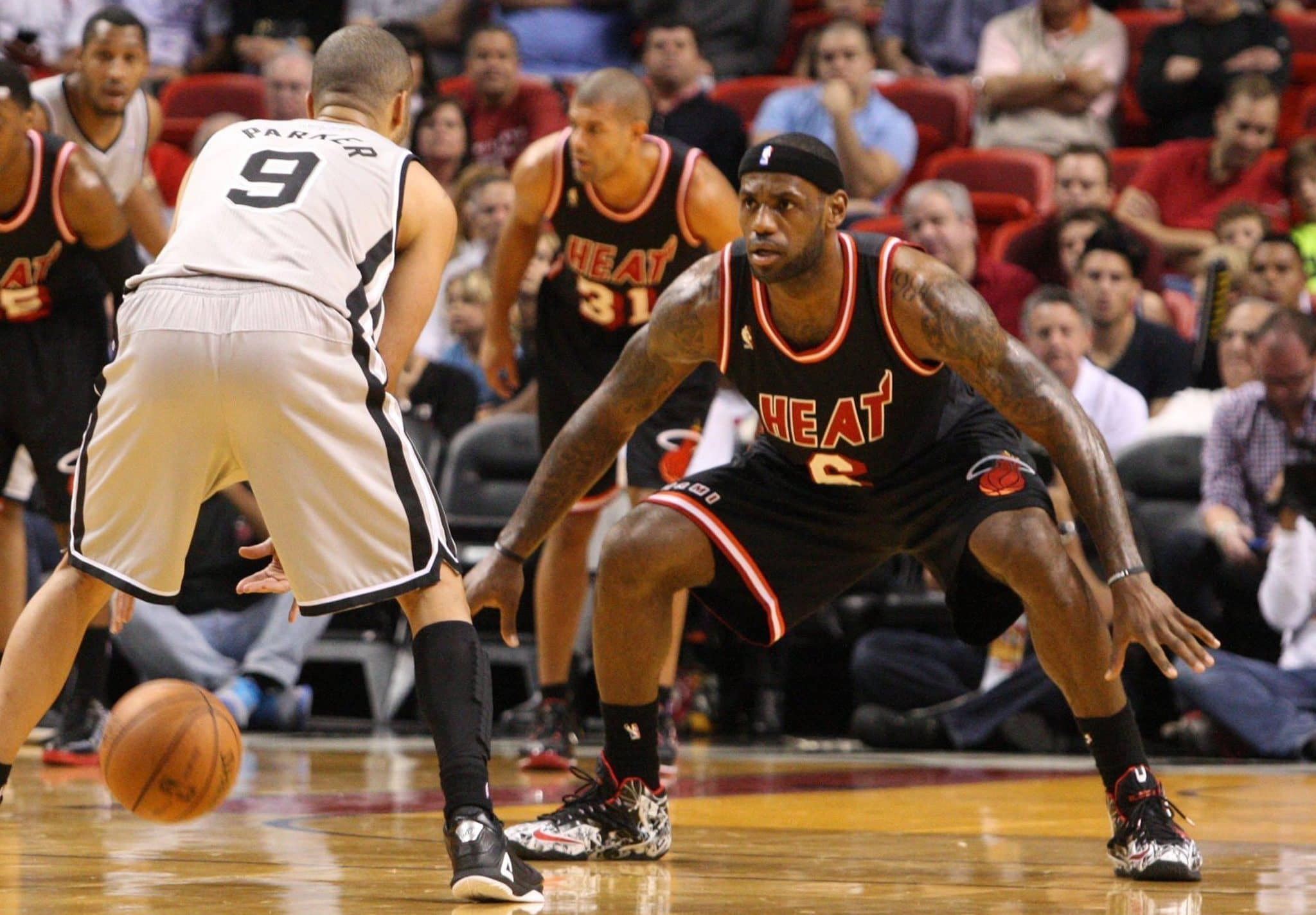 Defensive Stance in Basketball