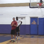 Post Position Hook Shot Finish Drill   Basketball HQ