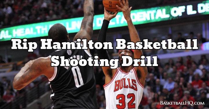 Rip Hamilton Basketball Shooting Drill