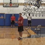 Fake Hand Off Shooting Drill   Basketball HQ