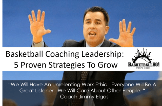 Basketball Coaching Leadership Strategies