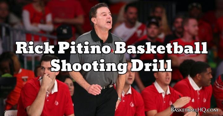 Rick Pitino Basketball Shooting Drill
