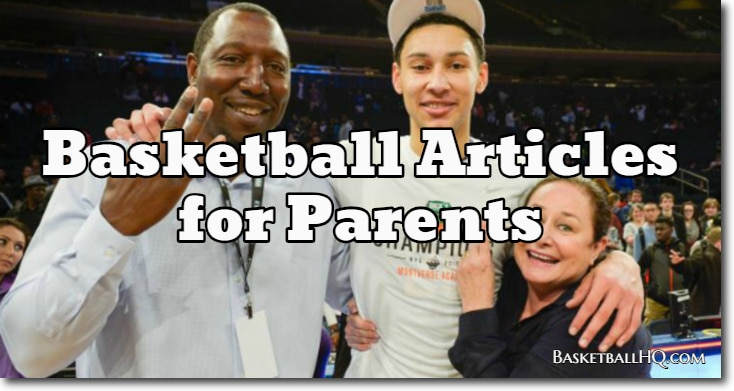 Basketball Articles for Parents