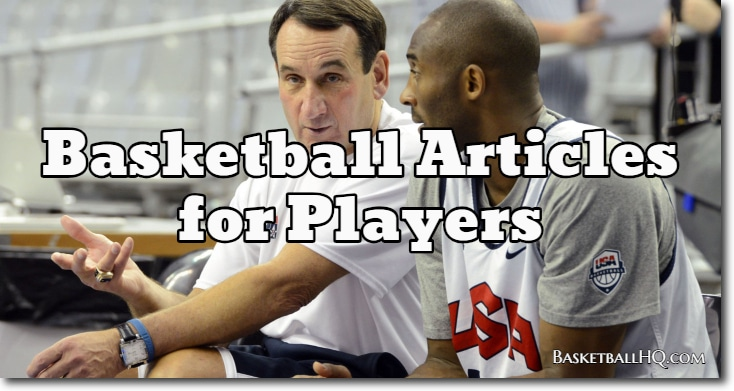 Basketball Articles for Players