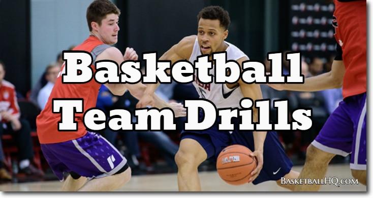 Basketball Team Drills