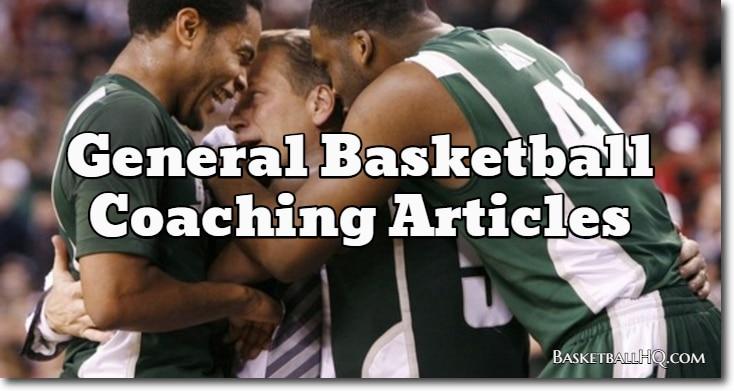 General Basketball Coaching Articles
