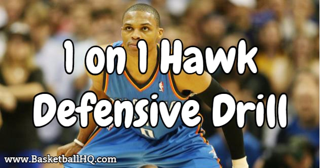 1 on 1 Hawk Defensive Basketball Drill