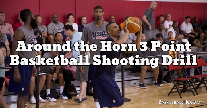 Around the Horn 3 Point Basketball Shooting Drill