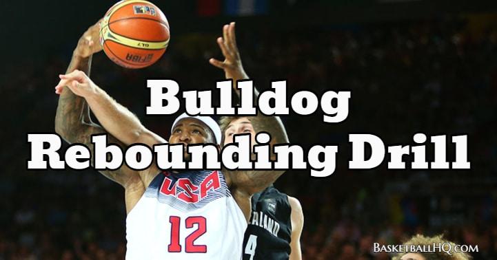 Bulldog Basketball Rebounding Drill