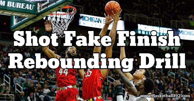 David Thorpe Shot Fake Finish Basketball Rebounding Drill