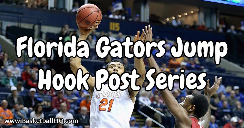 Florida Gators Jump Hook Post Series Basketball Drill
