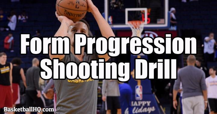 Form Progression Basketball Shooting Drill