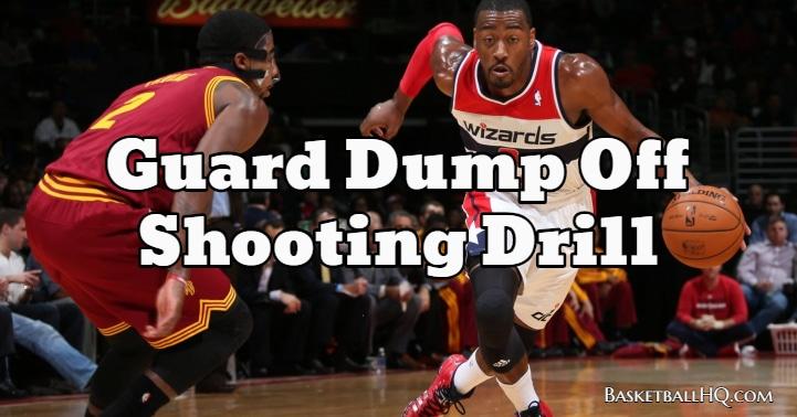 Guard Dump Off Basketball Shooting Drill