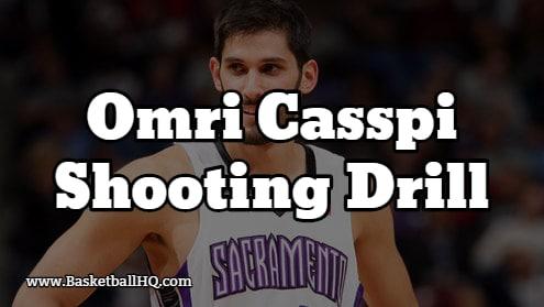 Omri Caspi Basketball Shooting Drill