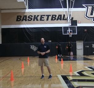 Cones Warmup Basketball Dribbling Drill - Basketball HQ