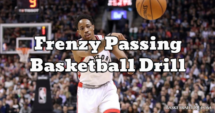 Frenzy Passing Basketball Drill