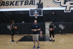 Stationary Ball Handling Warm Up Basketball Drill